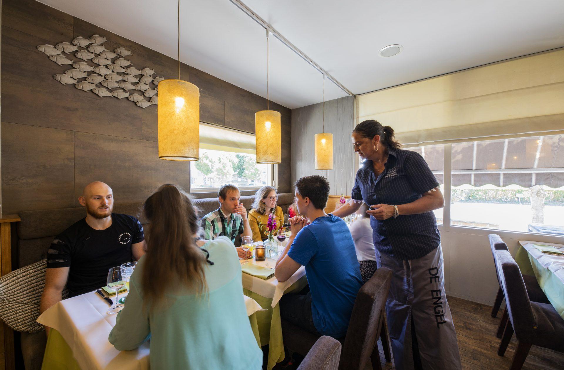 Groepen restaurant